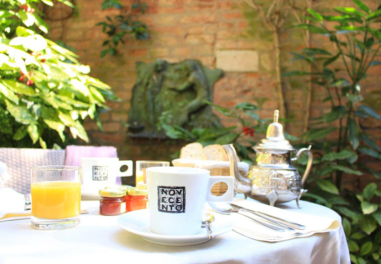 Breakfast at Locanda Novecento