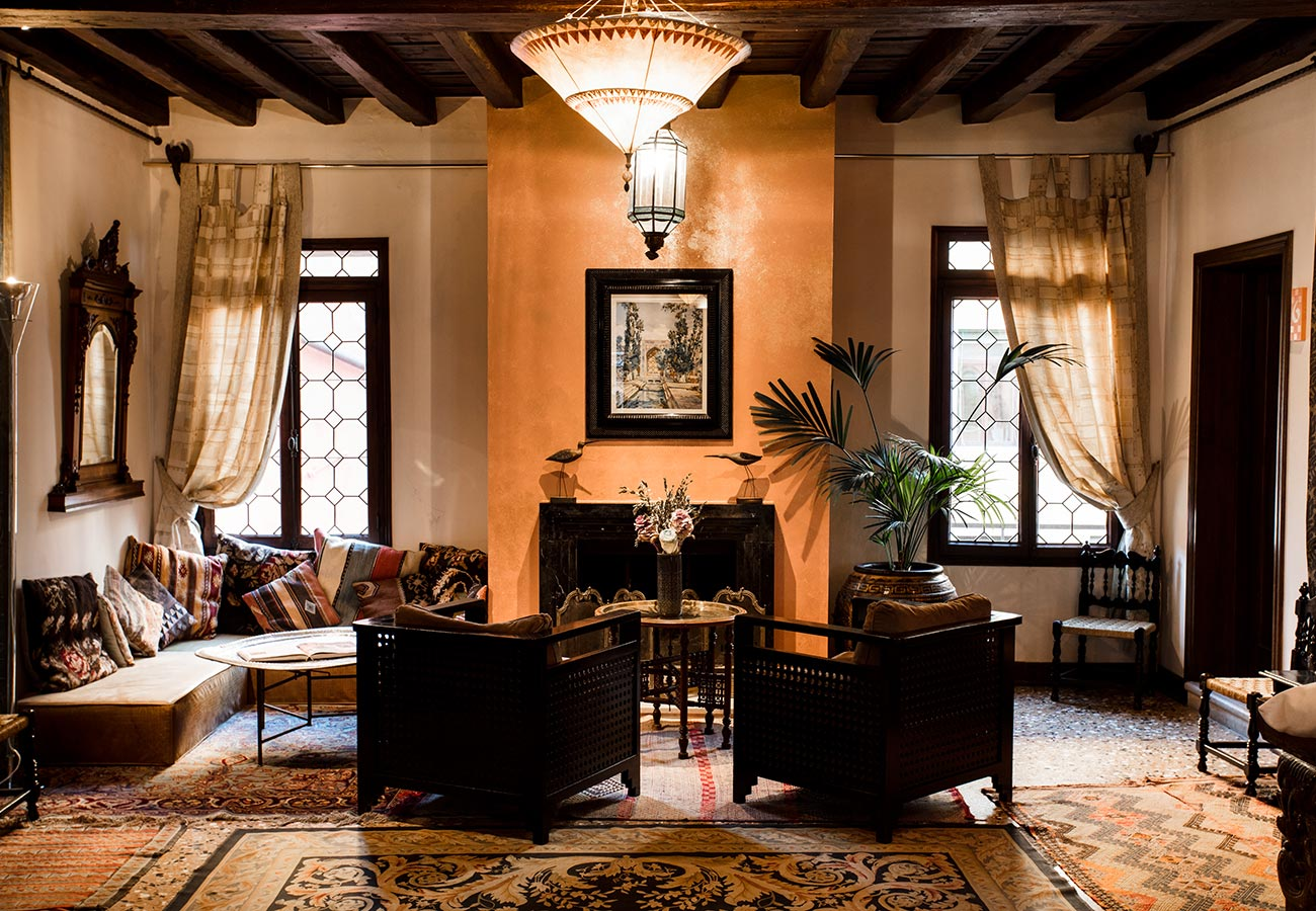 Living Room Novecento Boutique Hotel